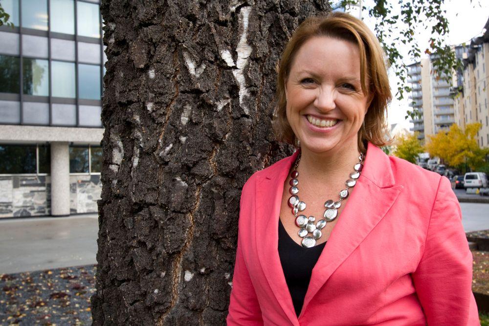 STRATEGEN: Liv Kari Hansteen og RIF vil ha nasjonal strategi for energi.