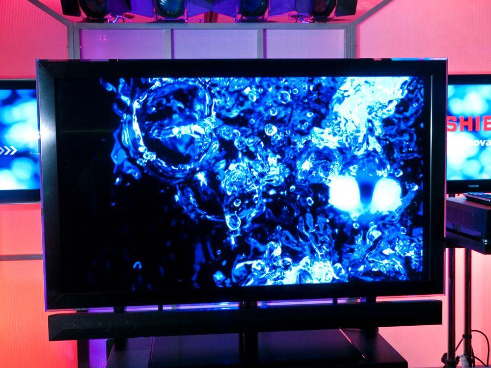 CELL-TV: Toshiba overrasker med rene superdatamaskinen av en TV.