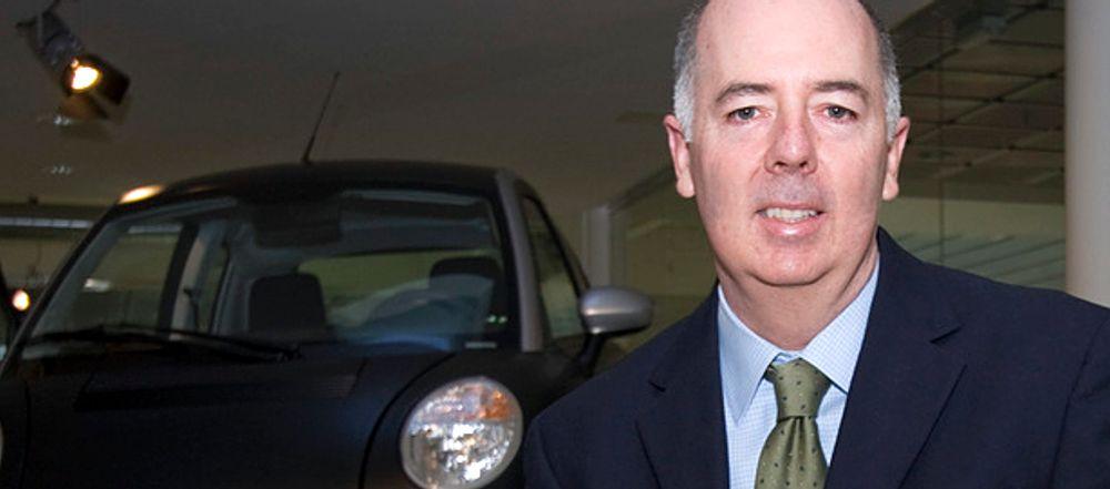 SVENSKESATSING: Ifølge administrerende direktør Richard Canny fokuserer Think på å selge selskapets biler, ikke aksjer, i Sverige. Think er sentrale i den store elbilsatsingen Power Circle.