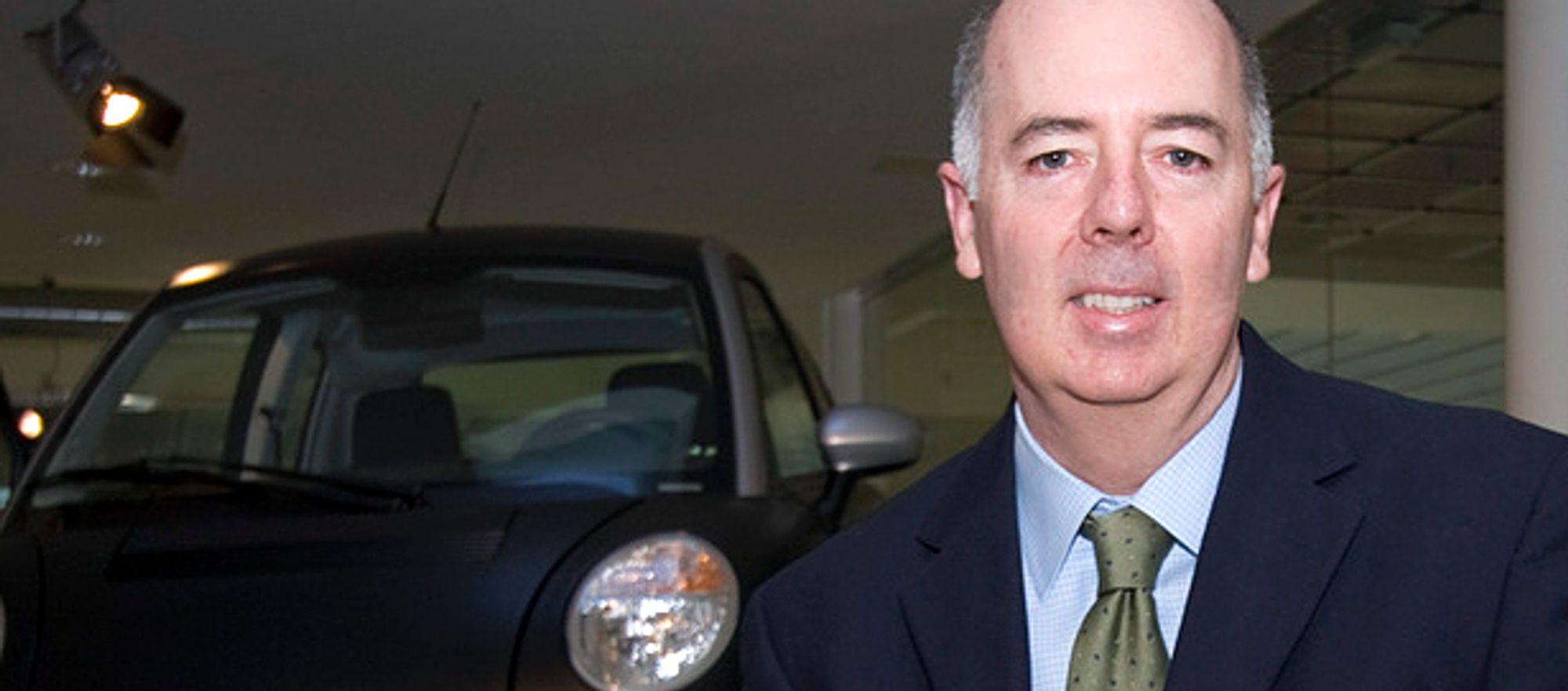 Think-sjef Richard Canny er fornøyd med å få 44 kolleger tilbake på jobb. Men selskapet trenger fortsatt mange millioner kroner for å starte opp igjen elbilproduksjonen.