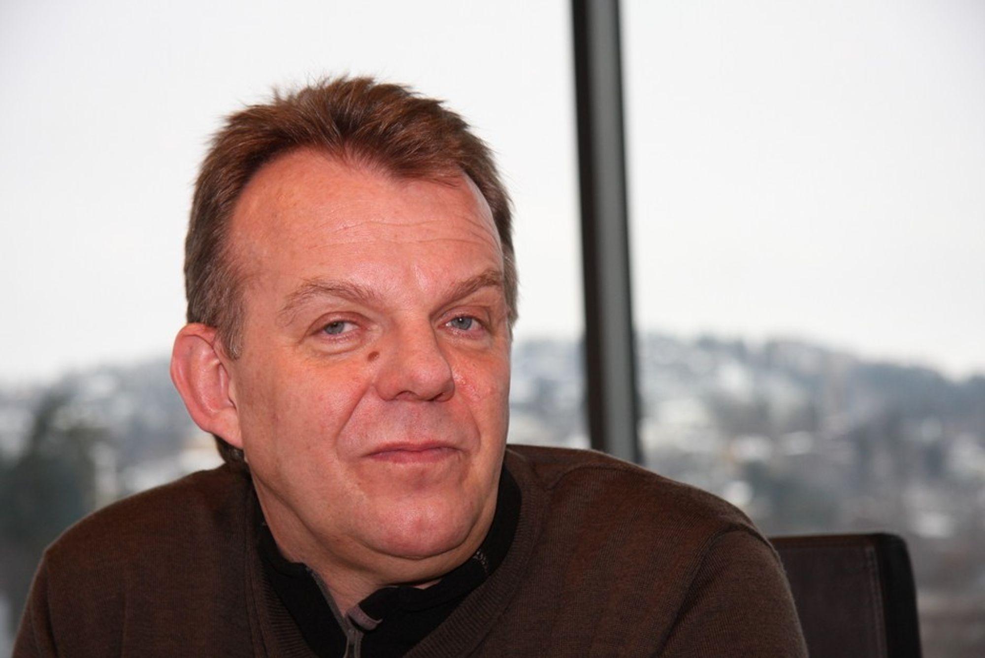 LØNN: Torstein Dale Sjøtveit  vil få en lønn på 1,2 millioner dollar i året.