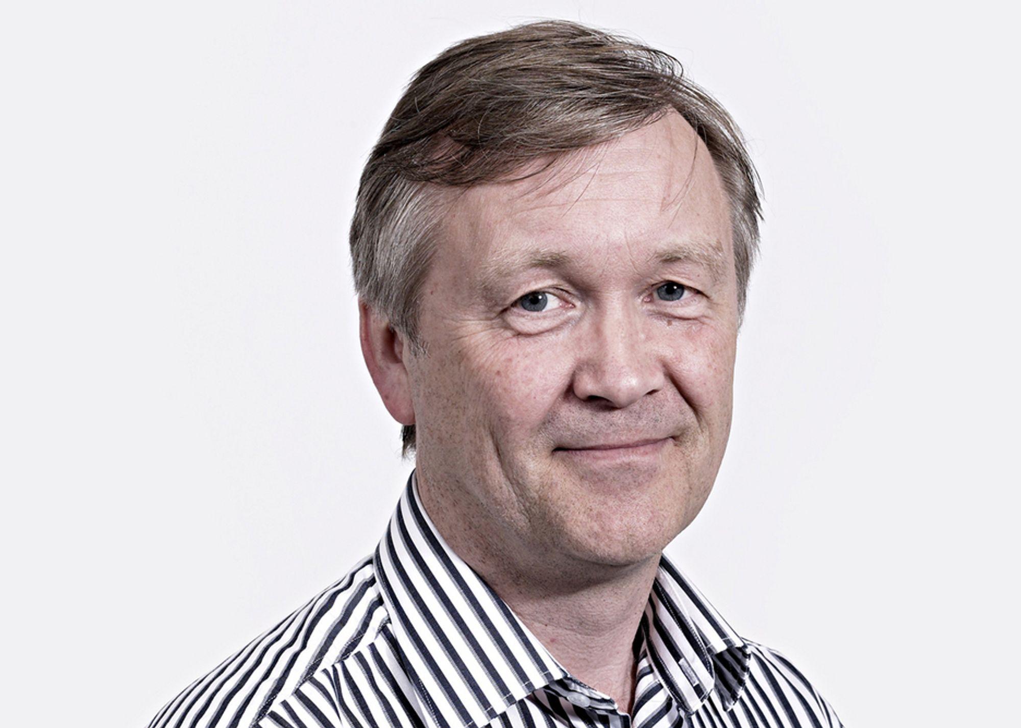 VIL ØSTOVER: Konsernsjef Jan Hestås i Kruse Smith vil ikke lenger være regional entreprenør på Sørlandet. Nå kommer han til Østlandet der han venter mest vekst.