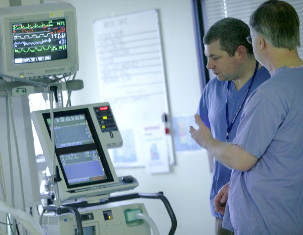 DATAHJELP: Online kan slekt og venner nå legge inn lyd og bilder som hjelper pasienter på intensiv-avdelingen, raskere tilbake til livet etter oppvåkningen. Bildet er fra forsøkene med programvaren.