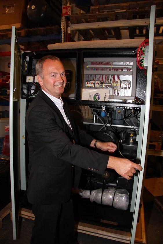 Gründer og administrerende direktør Odd-Ståle Sperre Ness i TMC, Tamrotor Marine Compressors.