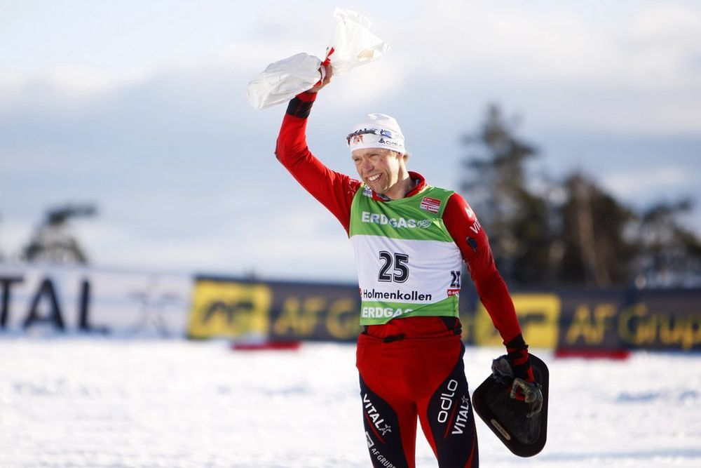SEIERSVILJE: Halvard Hanevold og Norges Skiskytterforbund har inngått millionkontrakt med AF Gruppen. Eliteutøvere og trenere skal hjelpe entpreprenøren med prestasjoner og vinnervilje.