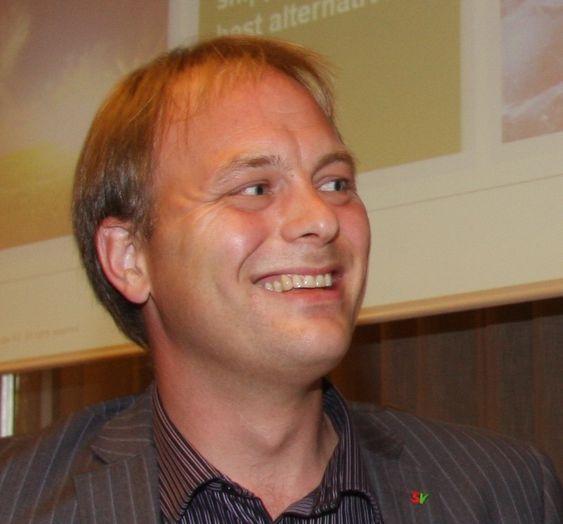 Statssekretær pål Julius Skogholt (SV), Nærings- og handelsdepartementet. Fotografert på besøk hos DNV august 2010.