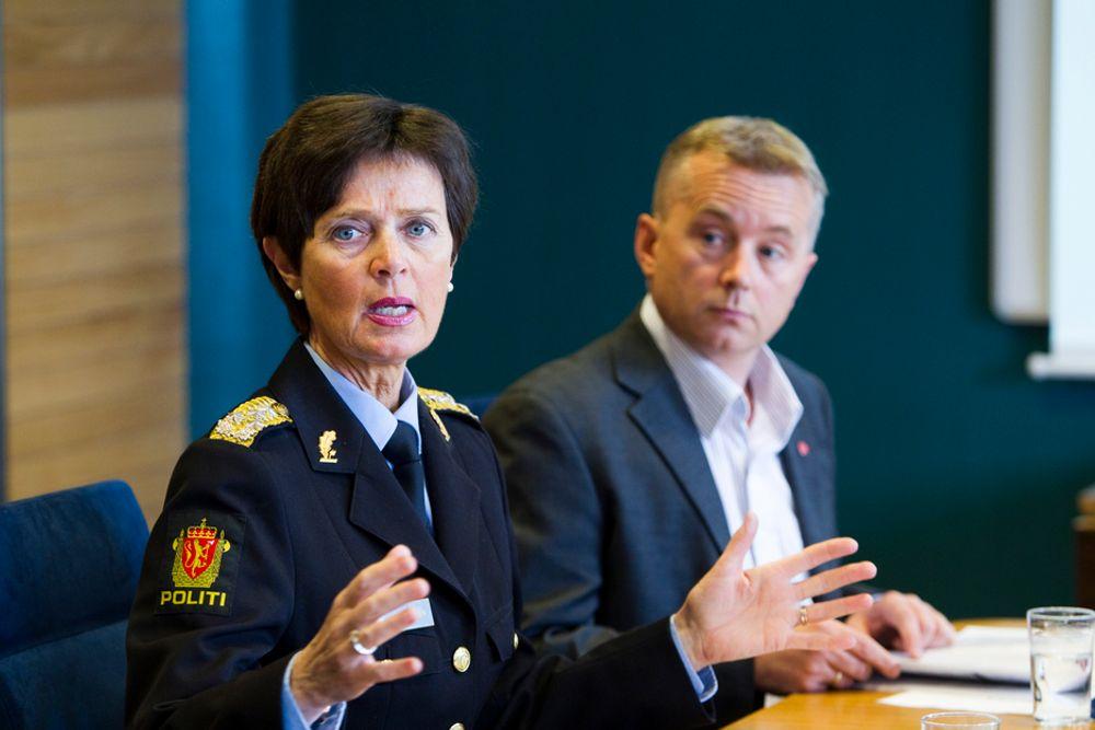 MÅ PRIORITERES: ¿ I departementets styringsnotater til politiet har IKT ikke vært prioritert høyt nok, sier politidirektør Ingelin Killengreen.