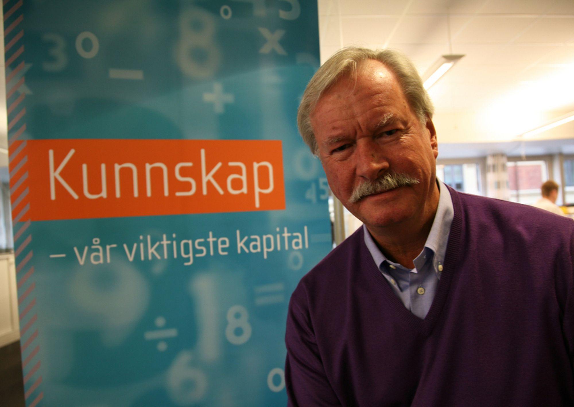 FORSVARER: Teknas generalsekretær Kåre Rygg Johnsen mener Tekna-medlemmenes kunnskap gir Norge økonomisk vekst.