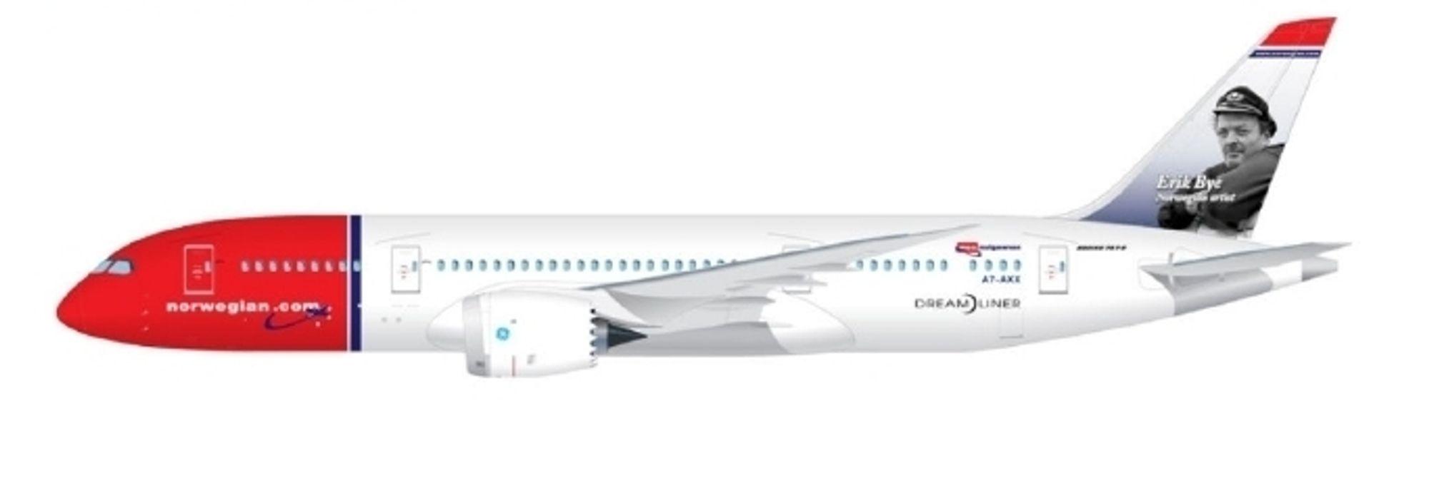 Norwegian inngår avtale om å lease enda ett Boeing 787-8 Dreamliner-fly fra ILFC.