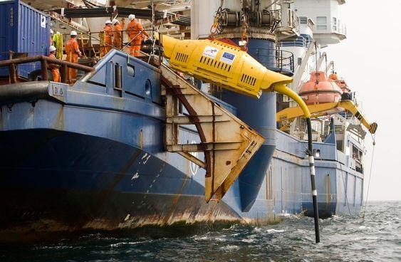 Wave Hub ble satt på plass med den finske isbryteren Nordica i september i år.