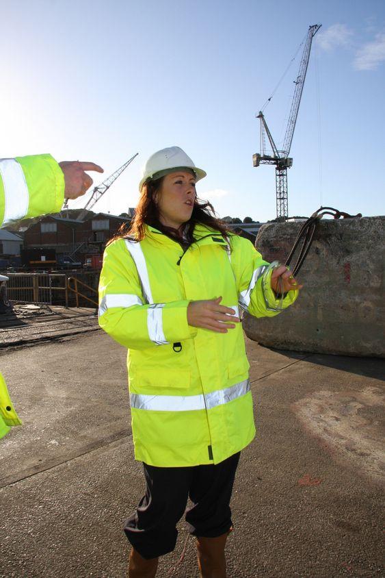 DYPVANNSKAI: Utbygging av kraftressurser i havet krever gode havneforhold. Falmouth er ett av de få stedene det er tilgang på dypvannskai. Ifølge Amanda Pounds fra Falmouth Docks er planene klare for å bygge ut og lage kai spesielt for fornybarindustri som bølger og vind.