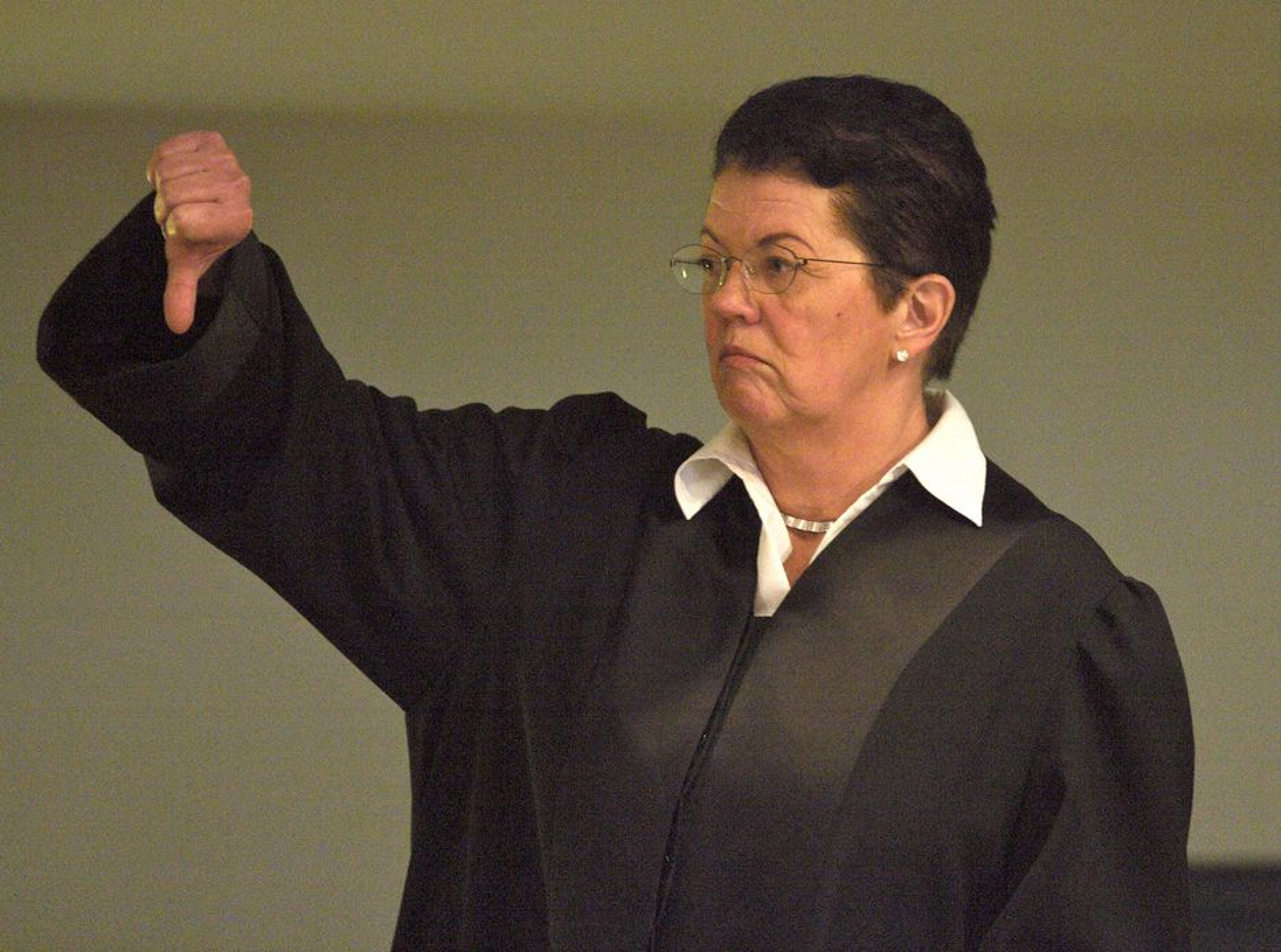 SIER NEI TIL BOT: Ellen Holager Andenæs skal forsvare Siemens Business Services (SBS) i retten.