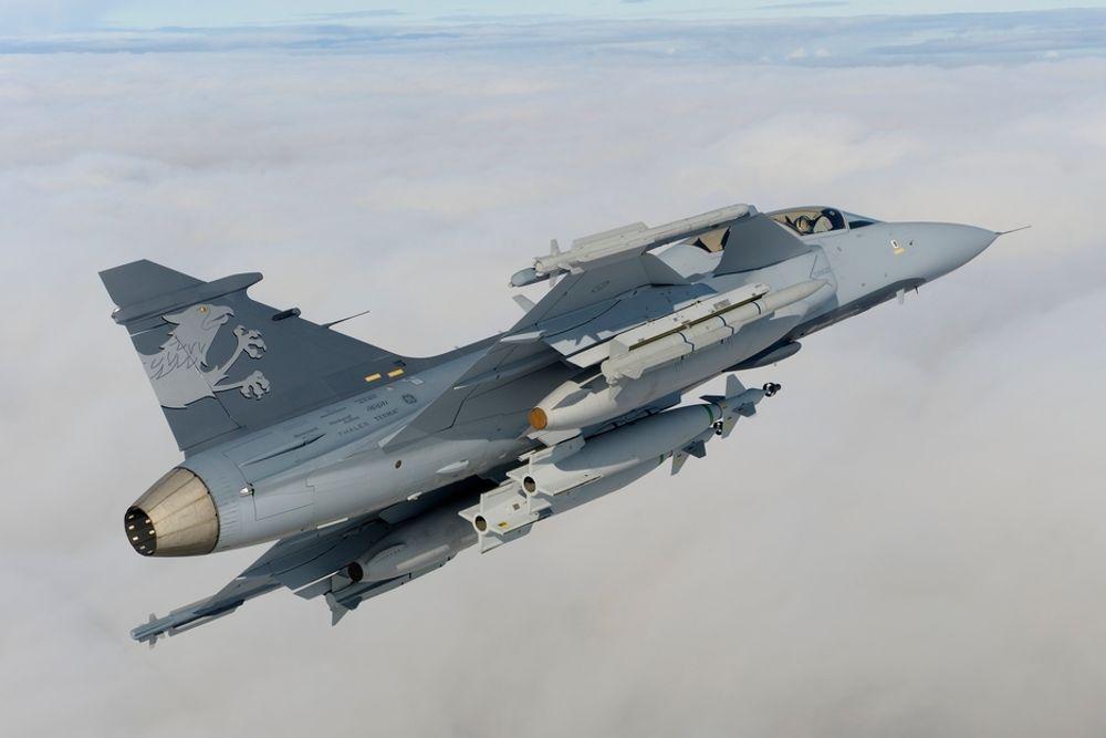 FAVORITT: Jas-39 Gripen NG pekes ut som forsvarsfavoritten i Brasil, men det er president Lula som bestemmer.