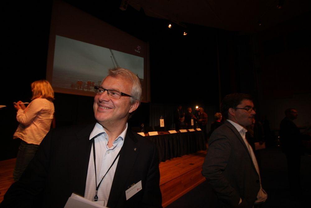 OVERRASKET: Konserndirektør i Statoil, Øystein Michelsen, mener det er liten interesse for gladsaker om norsk petroleumsvirksomhet.