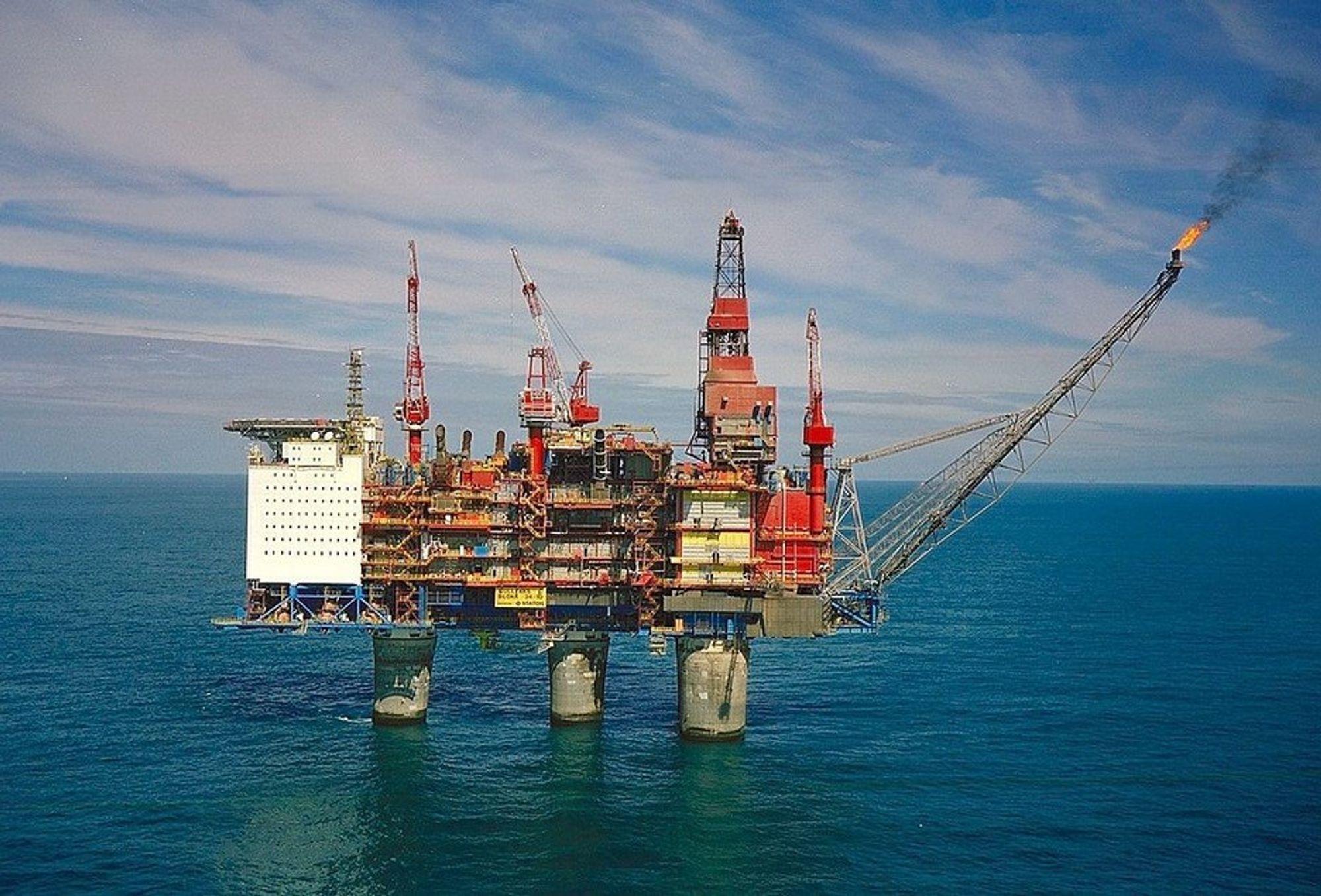 MANGLER DOKUMENTASJON: Ifølge Petroleumstilsynet har ikke Statoil dokumentert at selskapet ville klare å drepe brønnen i tilfelle en utblåsning på Gullfaks C.