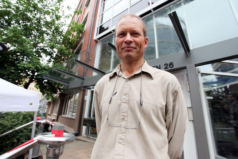 FORSKNING: Eirik Normann i Forskningsrådet tror norske bedrifter innoverer mer enn det offentlige statistikker viser.