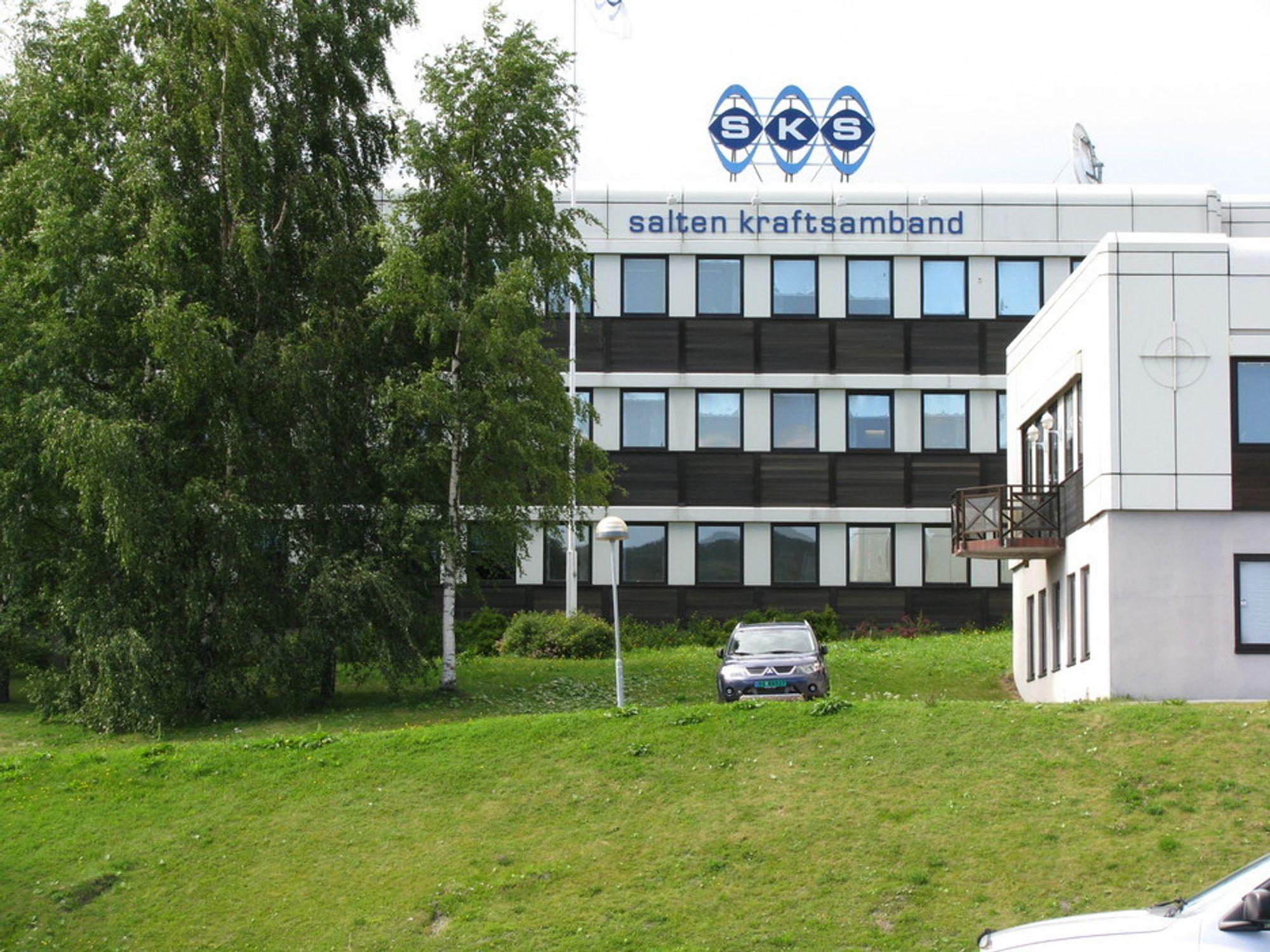 Deler av Salten Kraftsamband selges til livselskapet KLP.