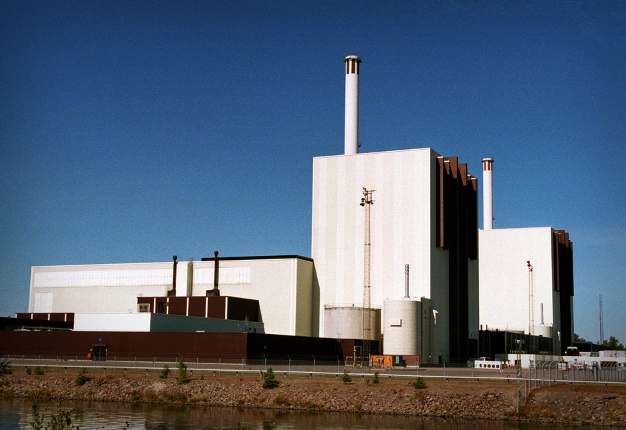 FORSMARK: Kjernekraftverket Forsmark har tre reaktorer. Forsmark 1 og 2 er i prinsipp like, mens Forsmark 3 er av ny type. De tre reaktorene har en sammenlagt effekt på nær 3090 MW.FOTO: HANS BLOMBERG