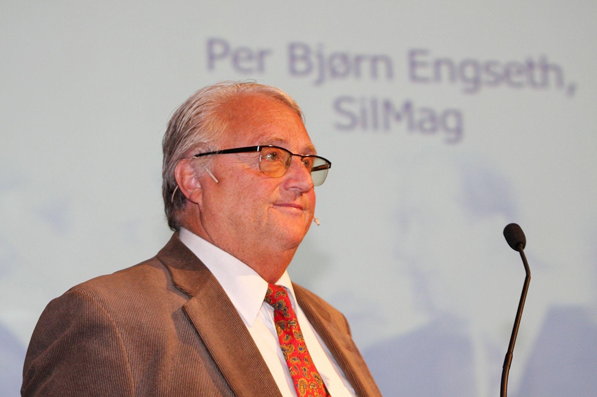 """NY TEKNOLOGI: - Det å reise 100 millioner kroner til et utviklingsprosjekt er ikke lett, sier Per Bjørn Engseth, daglig leder for SilMag. Han har fått oppgaven med å få """"Magnesiumen"""" tilbake til Herøya, ett drøyt tiår etter at produksjonen ble nedlagt."""