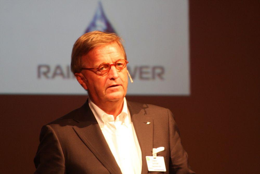 ØNSKER NÆRINGSPOLITIKK: Norge er ikke flinke nok til å ta vare på sine sterke sider, som rederiene, vannkraften og gassen, mener Diderik Schnitler, styreleder i Rainpower og tidligere NHO-topp.