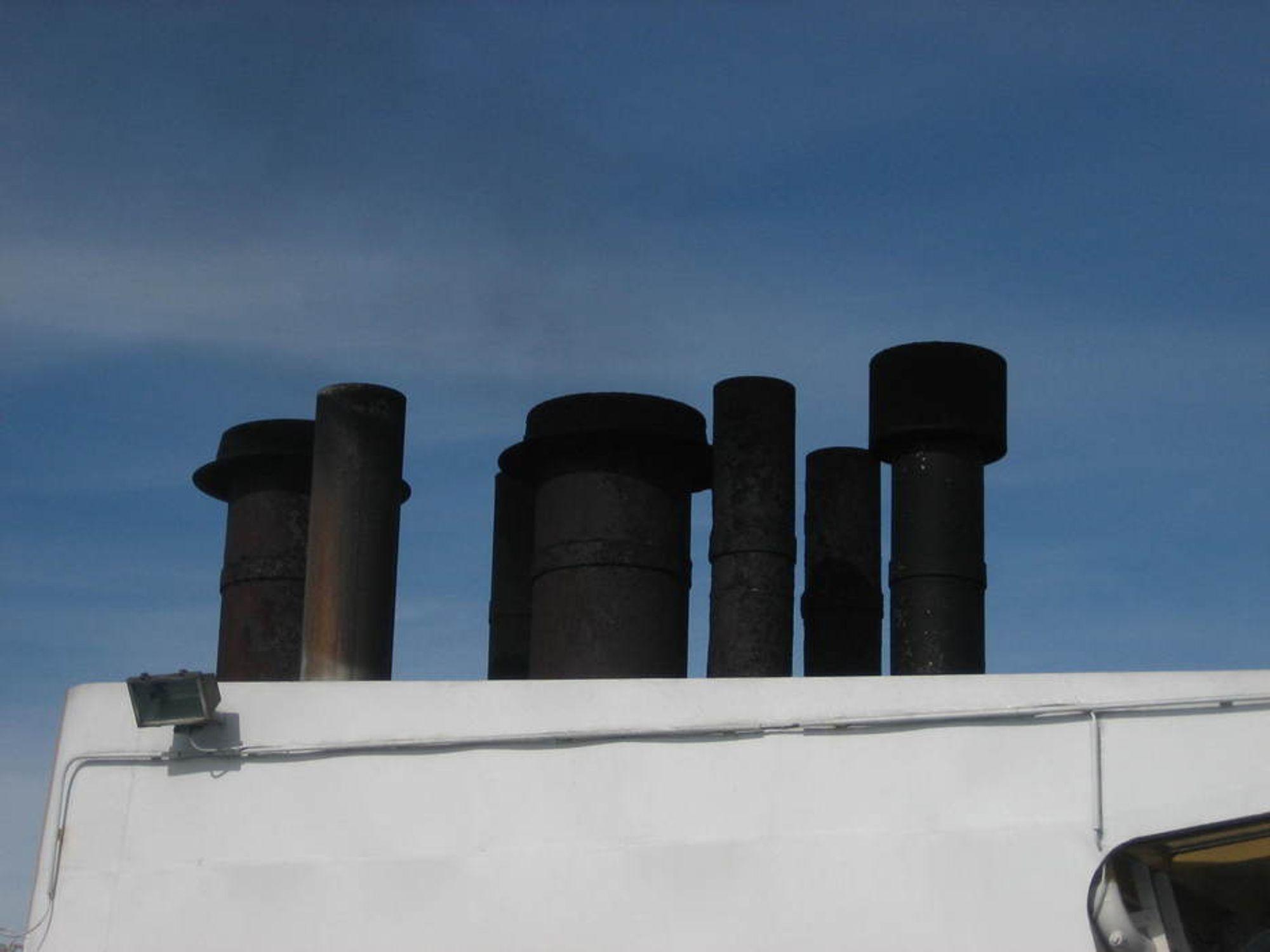 SKITT: Bunkersolje og marin diesel som brukes i skip medfører store utslipp av både CO2, NOx, SOx og partikler. Med unntal av CO2, skaper de resterende utslippene store helseplager for mennesker.