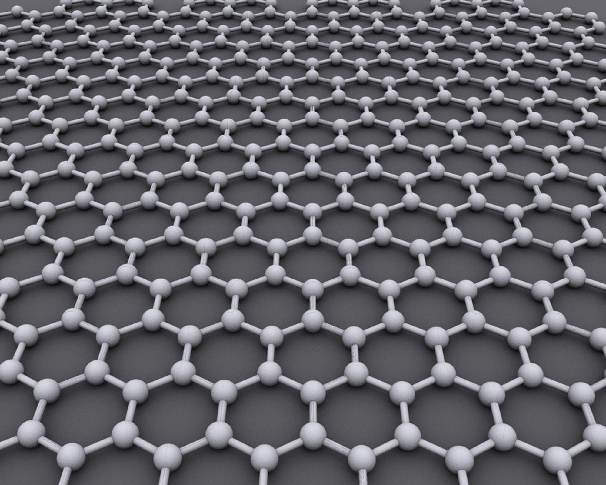 Grafén er et ultratynt lag av karbonatomer med en rekke viktige egenskaper.