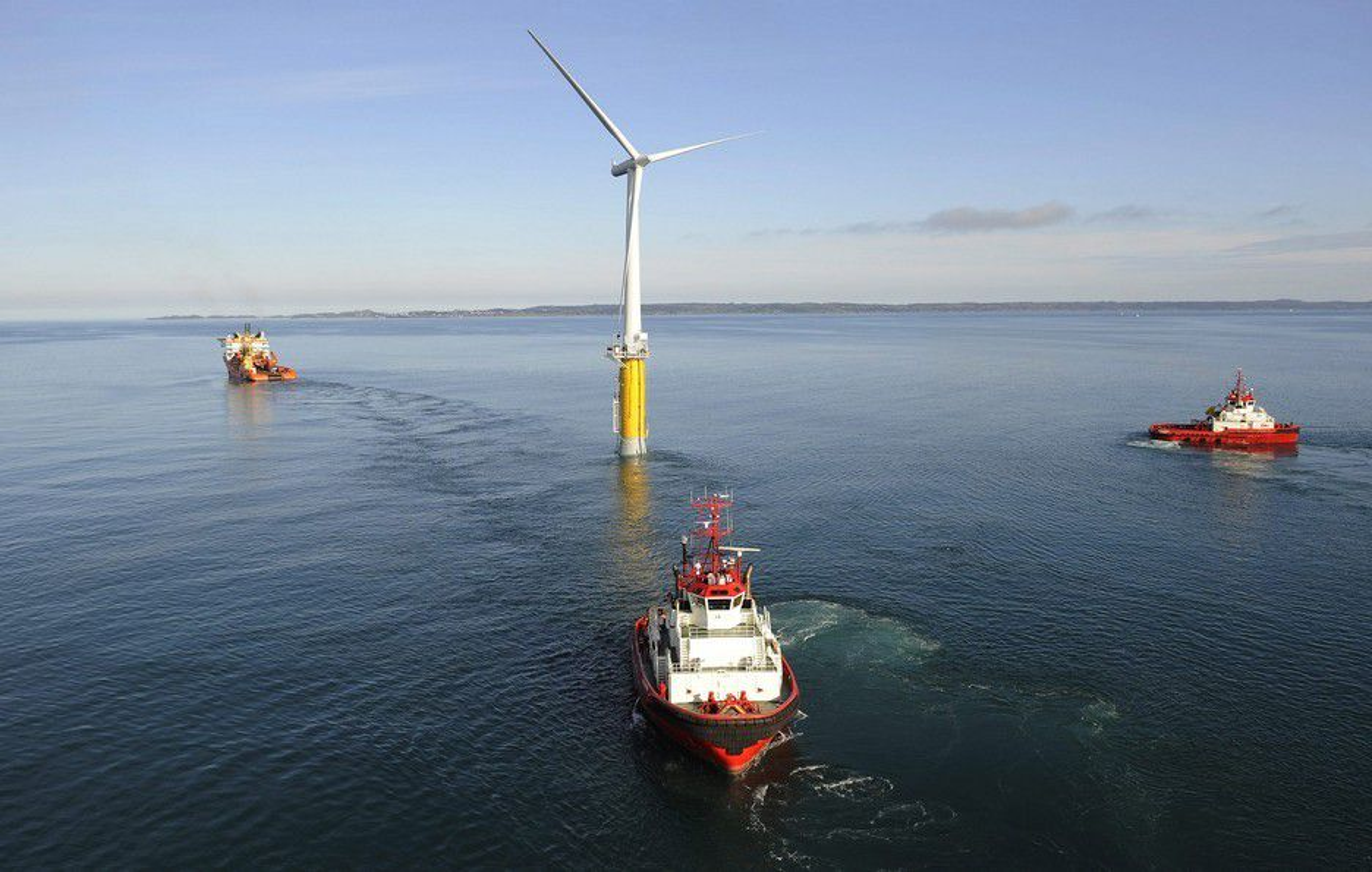 SMULER : Regjeringen bevilger 20 millioner kroner til havvind-satsingen.
