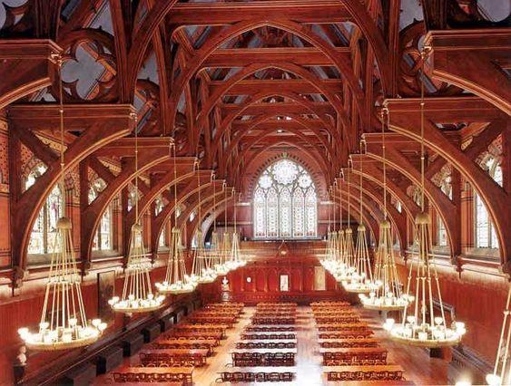 Annenberg Hall, Harvard University.