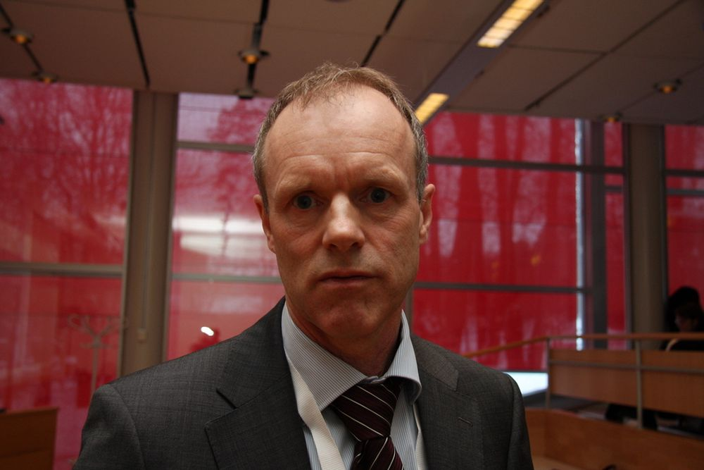 FORNØYD: Adm. dir. Sturla Henriksen i Rederiforbundet er glad på rederienes vegne.