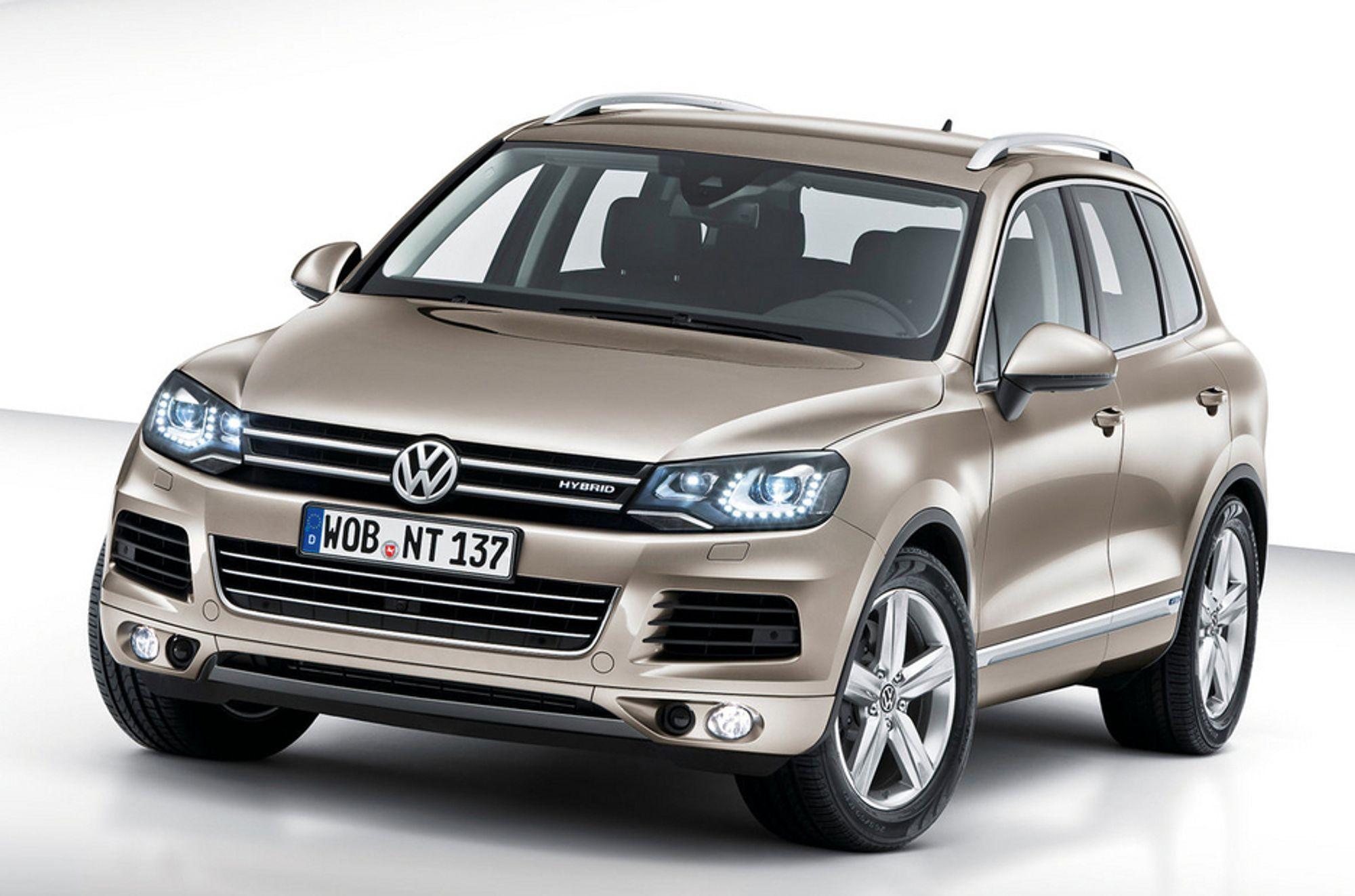 VW SELGER MEST: For femte år på rad ble Volkswagen Norges mest solgte bilmerke. Her andre generasjon VW Touareg.