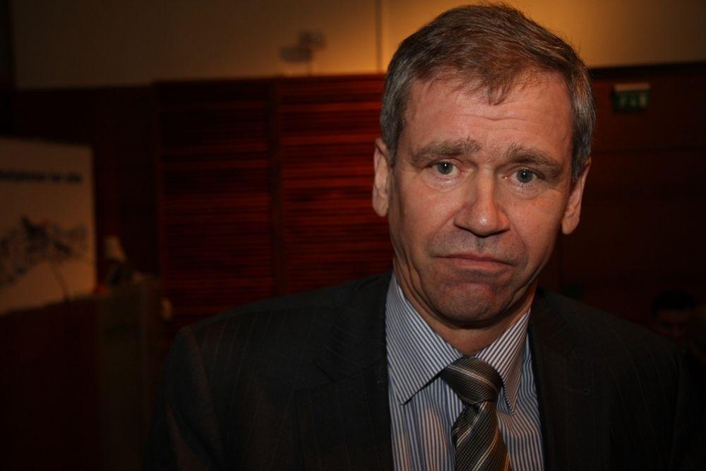 Einar Enger går av som konsernsjef i NSB.