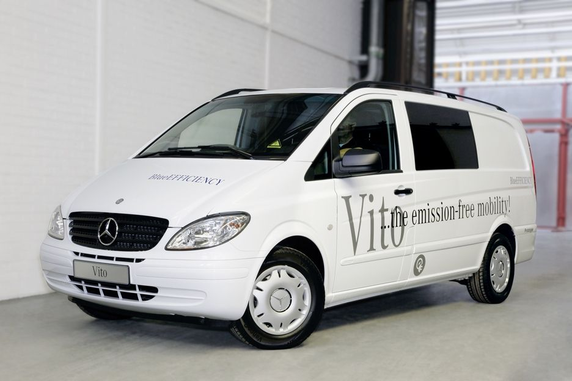 Den elektriske varebilen fra Mercedes-Benz, eVito, skal produseres i 100 eksemplarer i år.