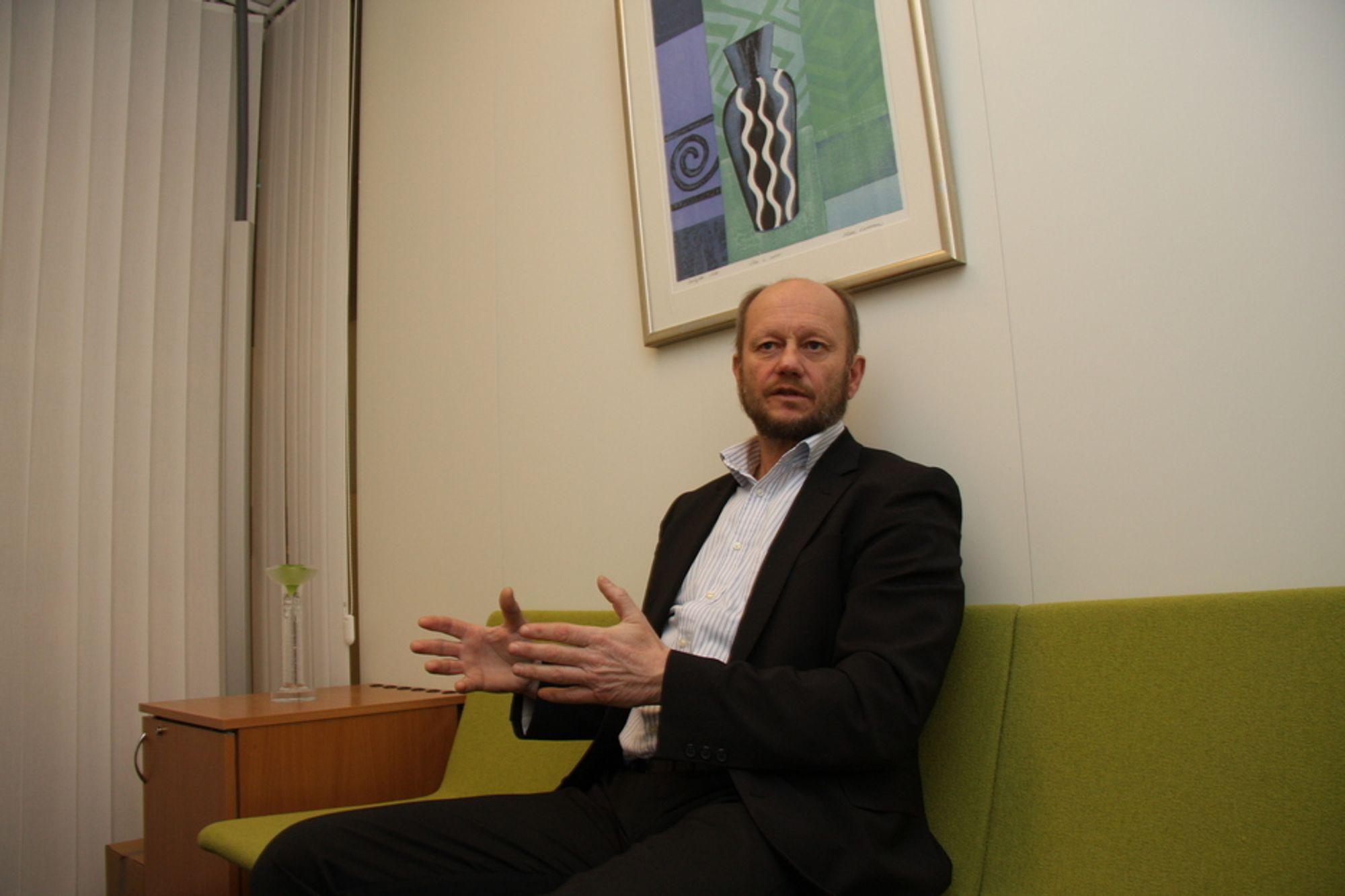 Stein Lier-Hansen, Norsk Industri