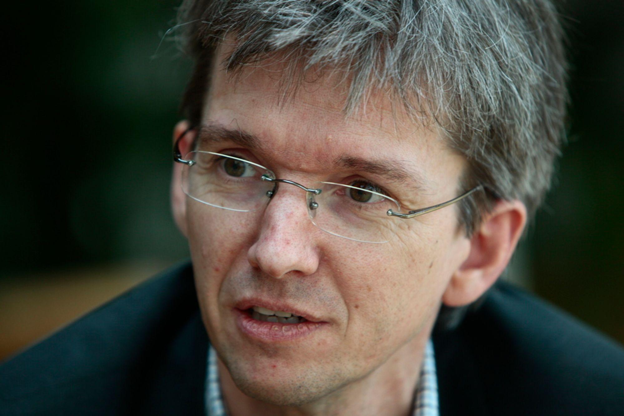 Abelia-leder Paul Chaffey tror både på plusser og minuser for it-bransjen gjennom en ny krise.