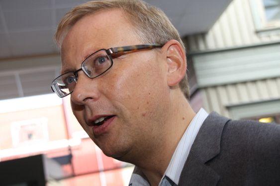 Kommunikasjonsdirektør Geir Remman, EDB Ergogroup.