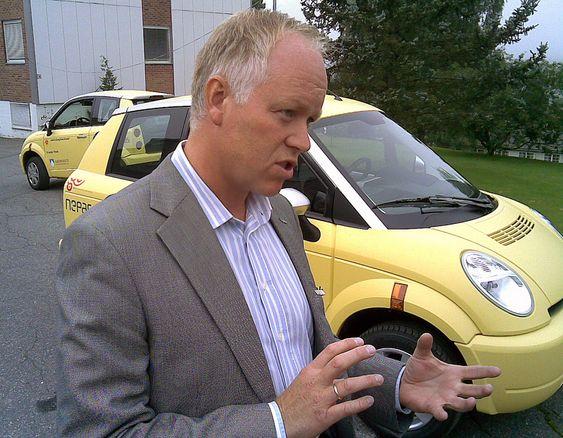 Salgssjef Sjur Heglund hos Think mener brukerne av de kommunale elbilene vil gi viktige innspill til videreutviklingen av Think City.