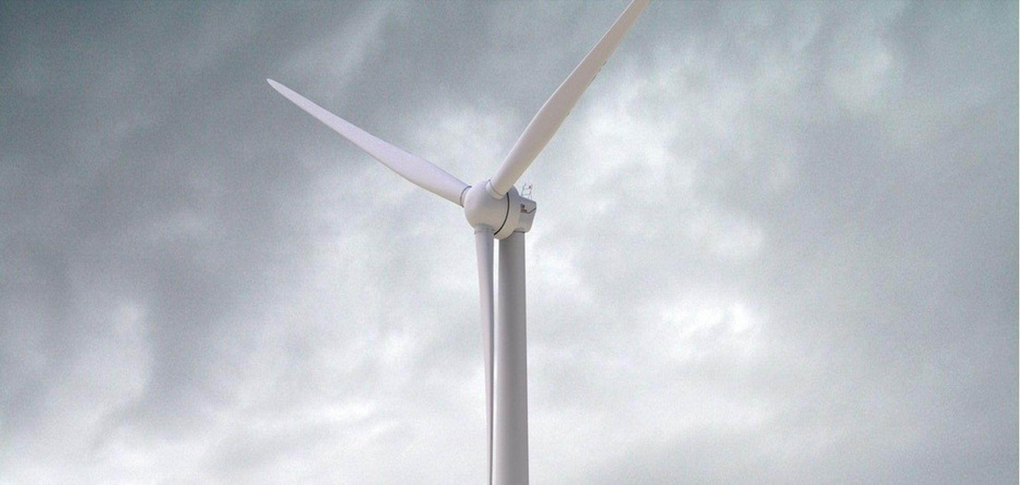 TESTES UT: Denne turbinen skal testes ut i Bjugn sammen med Siemens, med 34,5 Enova-millioner i støtte.