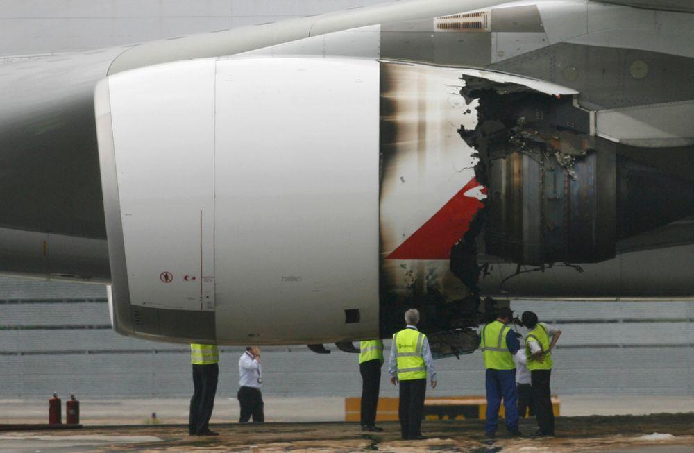 EASA mener det er sannsynlig at motorhavariet på Qantas-flyet i forrige uke skyldtes oljebrann.
