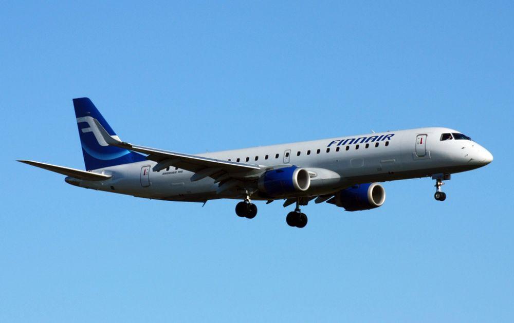 Det var dette flyet av typen Embraer ERJ-190-100LR som skjenet ut på kanten av rullebanen under takeoff fra OSL i oktober.