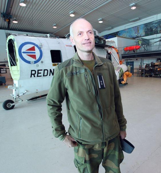 Oberstløytnant Inge Solvik er sjef for Luftforsvarets tekniske skole på Kjevik.