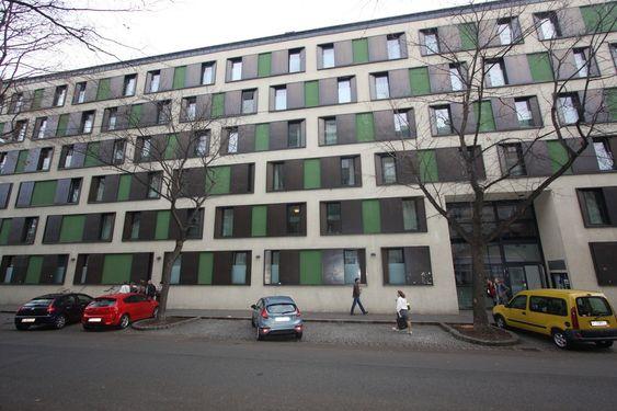 PASSIVT: Denne studentboligen bruker ikke mer enn 13 kWh/m2/år og var det første passivhuset i Wien, og også det største i Østerrike da det var ferdigstilt i 2005.