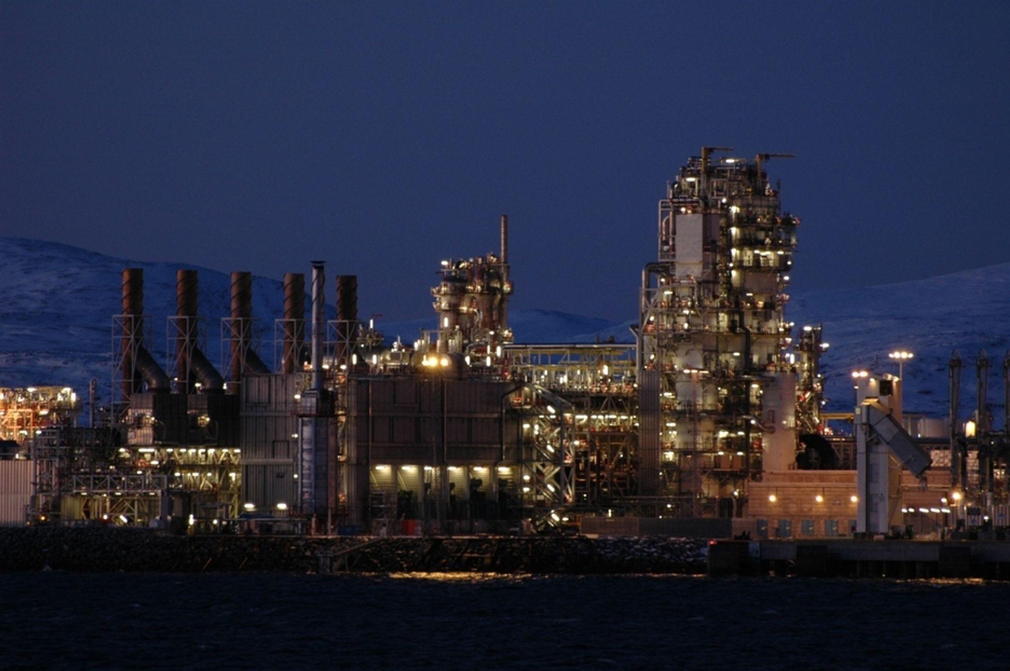 REKORDSALG: StatoilHydro solgte rekordmye gass i 2007 til tross for produksjonsproblemer på Snøhvit.