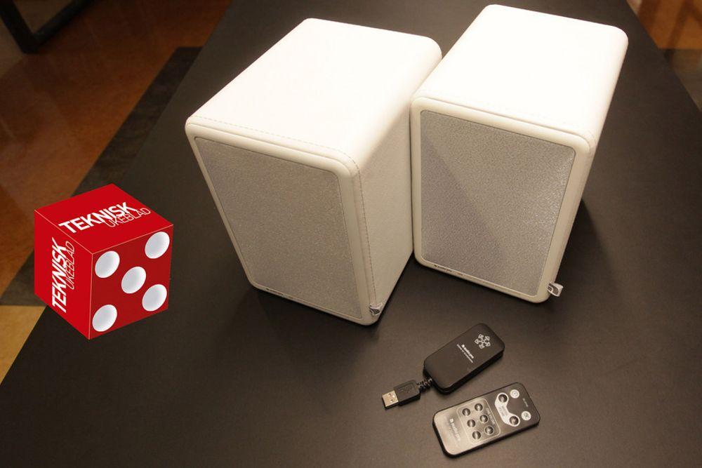 ENKELT: Audio Pro LV2 er plug and play i uttrykkets rette forstand. Og lyden er også god.