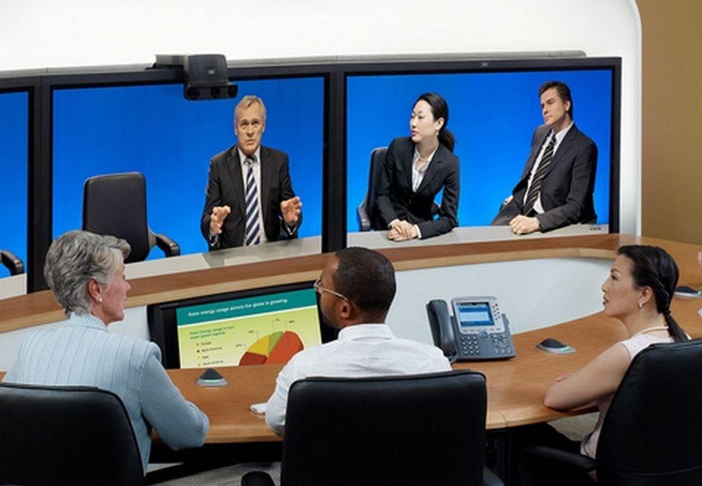 SENTRALT: Videokonferanser brukes mest av de som holder til i de mer sentrale delene av Norge.