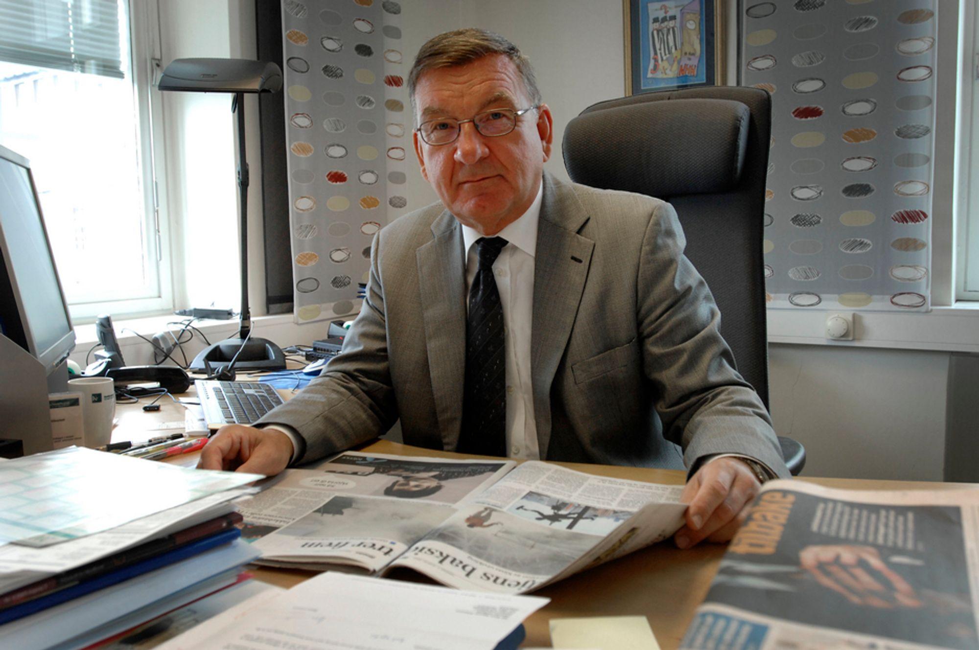 VANT: Konkurransedirektør Knut Eggum Johansen vant frem i ringretten, og kaller dommen et viktig signal.