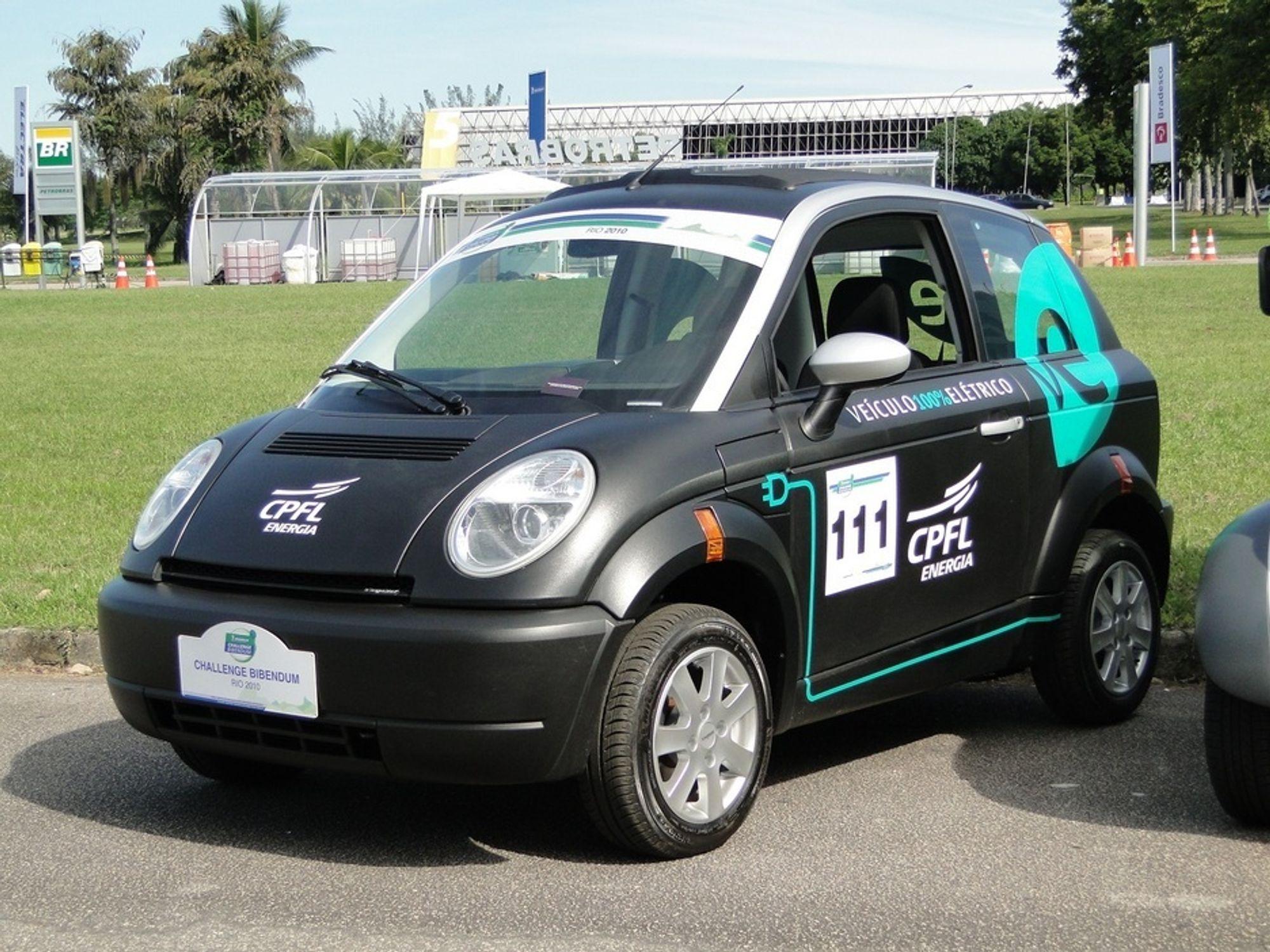 Sør-Amerikas tre første Think City er kjøpt av CPFL Energia i Rio de Janeiro.