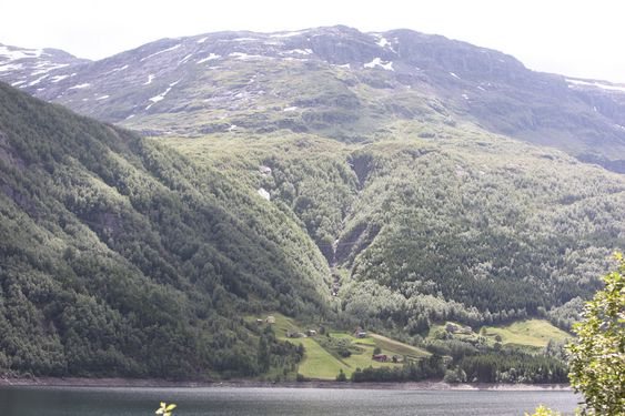 Botnen er ei fraflyttingsbygd ved riksvei 13 sør for Røldal. Pilegrimsstien kommer ned fjellsiden mot Røldalsvatnet, akkurat der rørgata til kraftverket er planlagt.