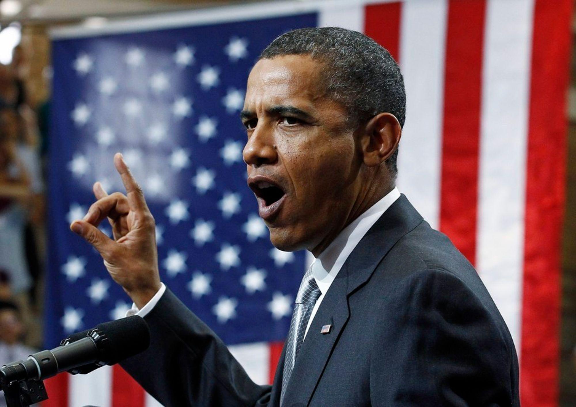 FIASKO: Arbeidet med ny klimalov ble en fiasko for USAs president Barack Obama.