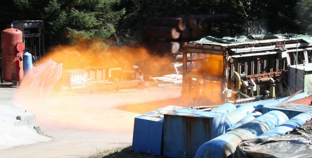 EX-SIKKER: Elektrisk utstyr som skal brueks  I områder der det er fare for eksplosjoner, skal være godkjent og sertifisert.