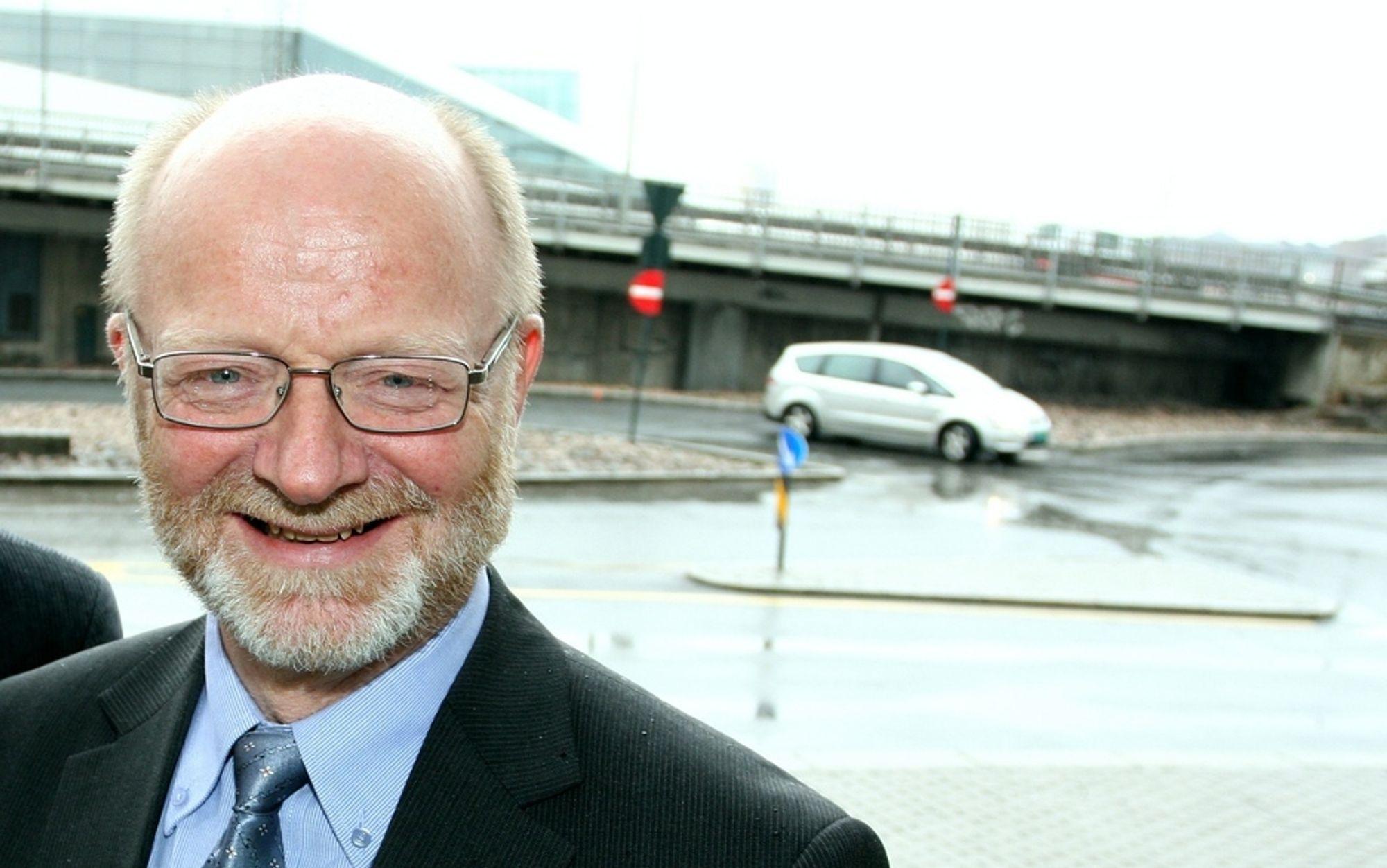 Erling Sæther er viseadministrerende direktør i i transport- og spedisjonselskapet Schenker AS.